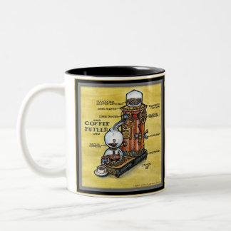 Taza del mayordomo del café de Steampunk