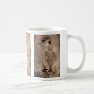 Taza del meerkat de Mitch