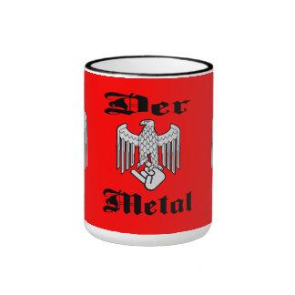 Taza del metal de Der