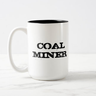 Taza del minero de carbón