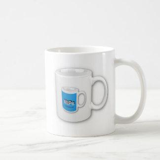 taza del mipdatabase en una taza en una taza