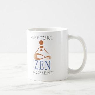 Taza del momento del zen de la captura