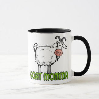 taza del momma de la cabra