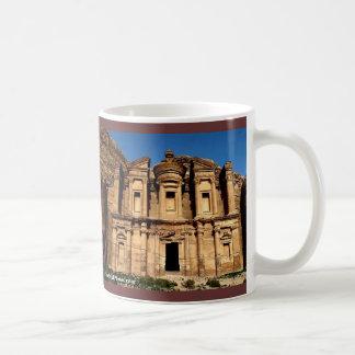 Taza del monasterio del Petra de ISRAEL