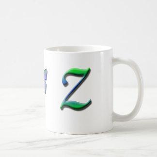 Taza del monograma Z