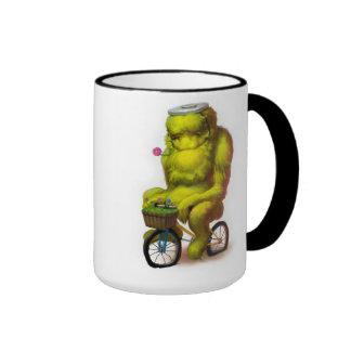 Taza del monstruo de la bici