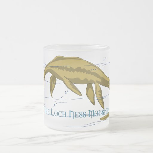Taza del monstruo de Loch Ness