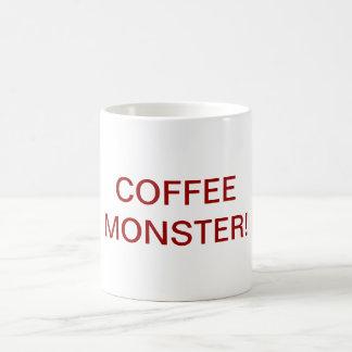 ¡Taza del monstruo del café! Taza De Café