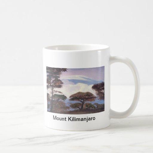 Taza del monte Kilimanjaro