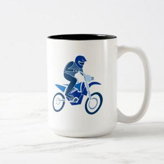 Taza del motocrós