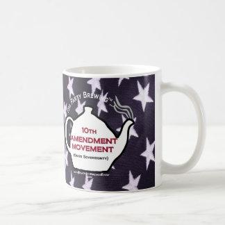 Taza del movimiento de la enmienda TP0109 10mo