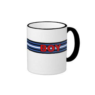taza del muchacho (bandera de cuero)