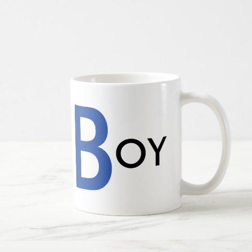 Taza del muchacho del té
