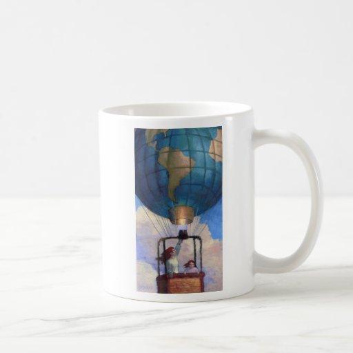 Taza del mundo del globo