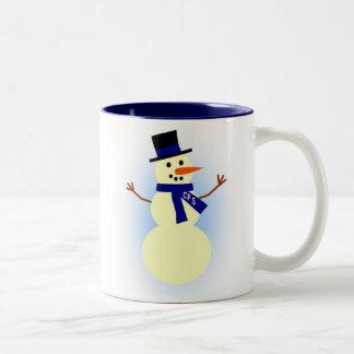 Taza del muñeco de nieve del CFS
