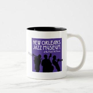 Taza del museo del jazz de New Orleans