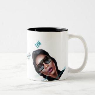¡taza del #MusicFam del #TNM! señora Rayne de la f Taza Dos Tonos
