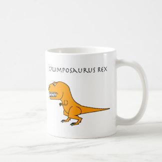 Taza del naranja de Grumposaurus Rex