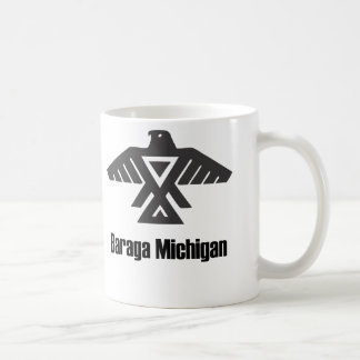 Taza del nativo americano de Baraga Michigan Ojibw