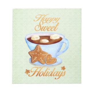Taza del navidad de Choco caliente Bloc