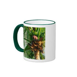 Taza del navidad de la Florida del coco