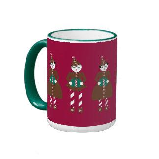 Taza del navidad de Martzkin de la trufa de chocol