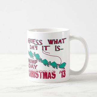Taza del navidad del día de chepa
