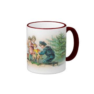 Taza del navidad del Victorian