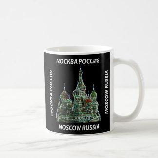 Taza del neón de Moscú