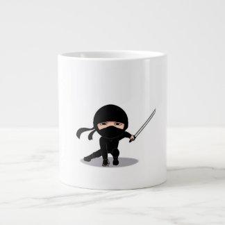 taza del ninja taza extra grande