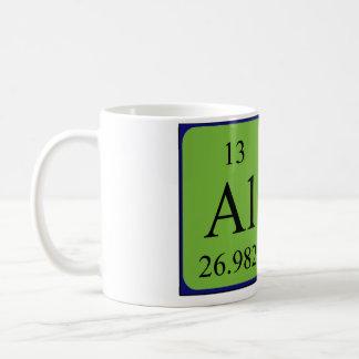 Taza del nombre de la tabla periódica de Ali