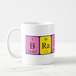 Taza del nombre de la tabla periódica de Brainiac