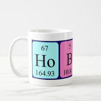 Taza del nombre de la tabla periódica de Hobert
