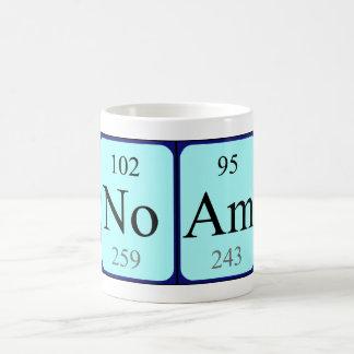 Taza del nombre de la tabla periódica de Noam