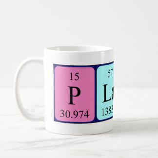 Taza del nombre de la tabla periódica de Platón