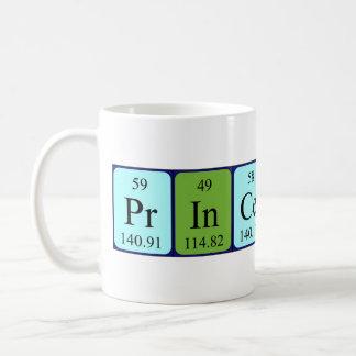 Taza del nombre de la tabla periódica de Princeton