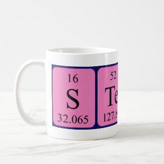 Taza del nombre de la tabla periódica de Steyn