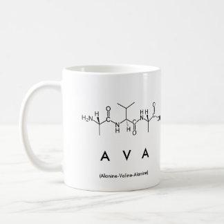 Taza del nombre del péptido de Ava