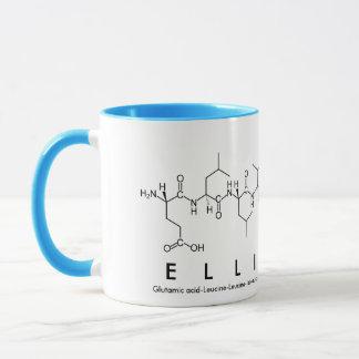 Taza del nombre del péptido de Ellie-Mae