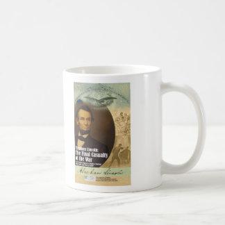 Taza del objeto expuesto de Abraham Lincoln -