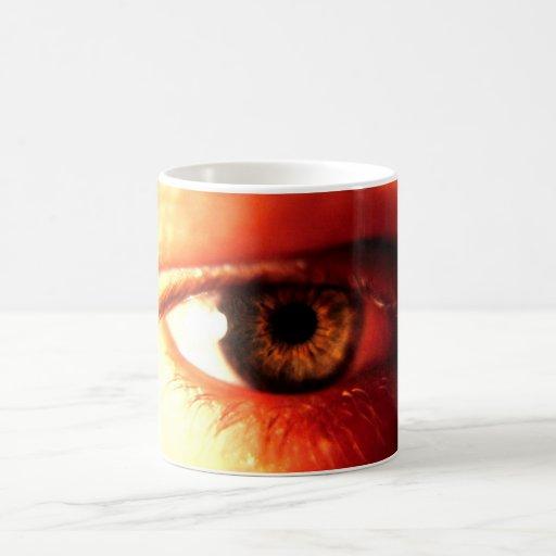 Taza del ojo