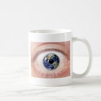 Taza del ojo de la tierra