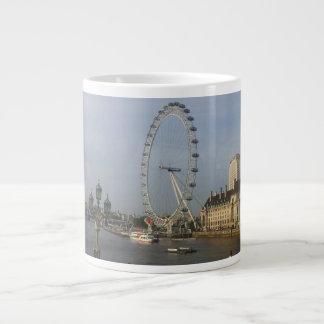 Taza del ojo de Londres Taza Grande