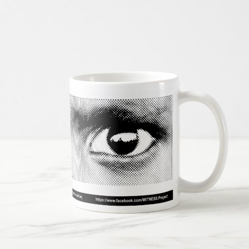 Taza del ojo del TESTIGO