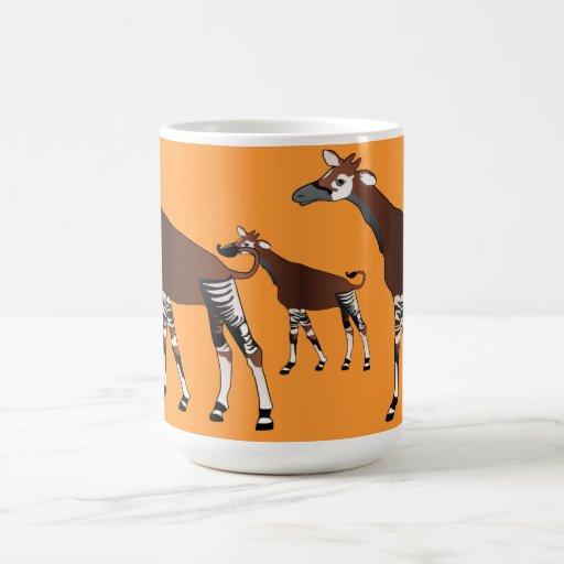 Taza del Okapi