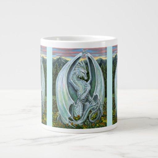 Taza del ópalo del jumbo del dragón taza grande
