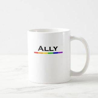 Taza del orgullo del aliado