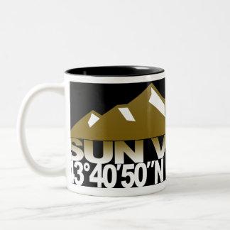 Taza del oro de GPS de la montaña de Sun Valley