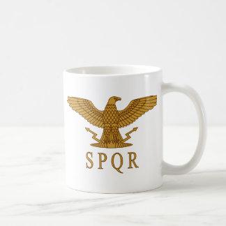 Taza del oro de SPQR Eagle