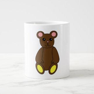 Taza del oso de Brown Taza Grande